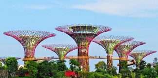 Vịnh Marina du lịch singapore